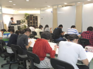 高校受験生夏の勉強合宿4